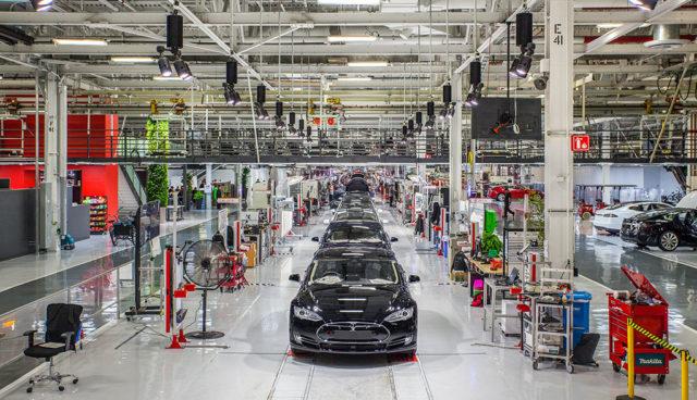 Tesla-Fabrik-Fremont