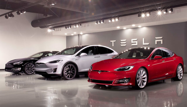 """Tesla drei Mal vorn bei """"Firmenauto des Jahres"""""""