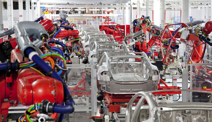 Tesla-Grohmann-Produktion
