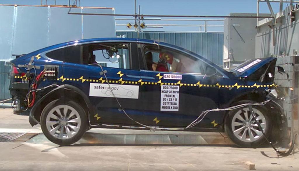 Tesla-Model-X-Crashtest-NHTSA-2017-Sicherheit-Bewertung