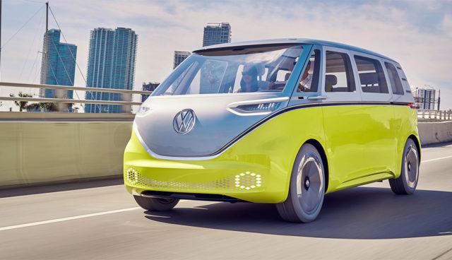 VW bestätigt: Elektro-Bus I.D. BUZZ wird gebaut