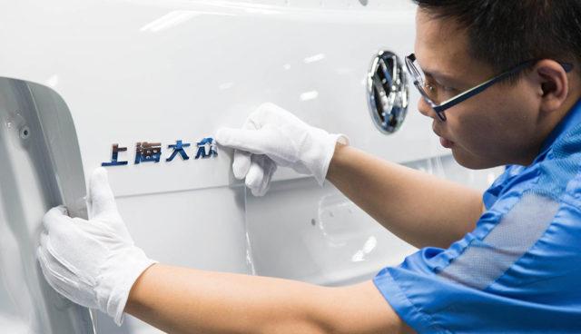 Volkswagen-JAC-Elektroauto-China