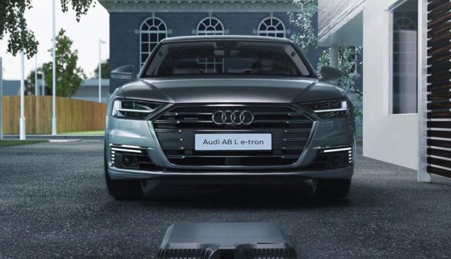 Audi-A8-e-tron-Induktives-Kabelloses-Laden