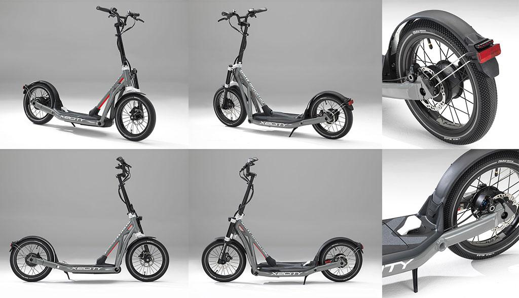 ab ende 2017 bmw elektro kick scooter x2city bilder. Black Bedroom Furniture Sets. Home Design Ideas
