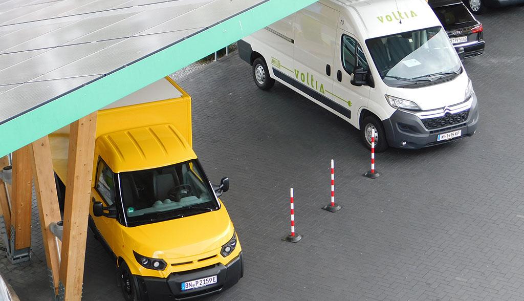 Voltia und StreetScooter liefern Elektroauto-Technik für Bakery Vehicle 1