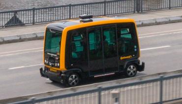 Continental-EasyMile-Elektroauto-Shuttle