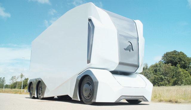 Einride T-Pod: Selbstfahrender Elektro-Lkw enthüllt