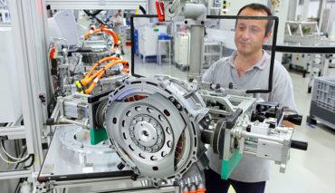 Elektroauto-Maschinenbau