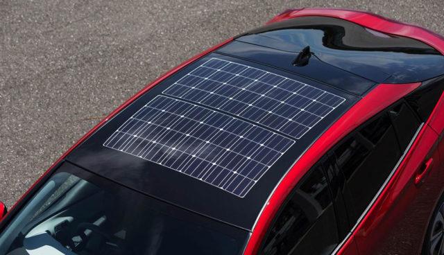 Panasonic will mehr Elektroautos mit Solar-Technologie ausstatten