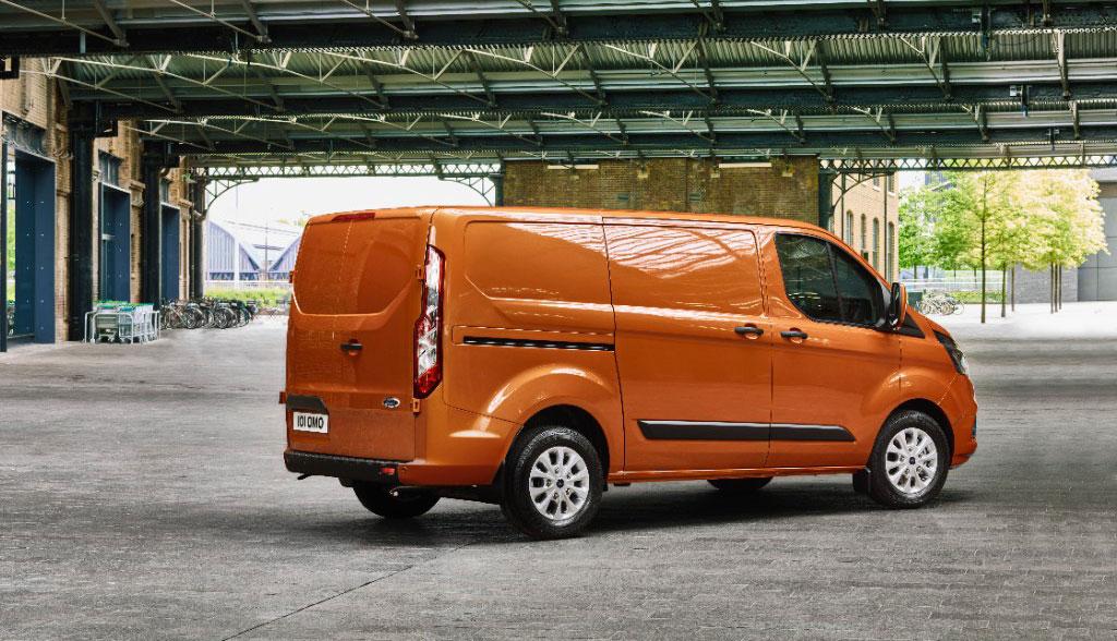 ab 2019 als plug in hybrid ford transit custom. Black Bedroom Furniture Sets. Home Design Ideas