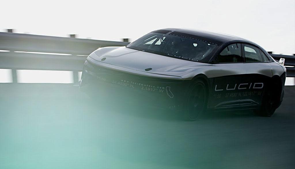 Lucid Air: 378 km/h mit der Elektroauto-Limousine (Video) - ecomento.de
