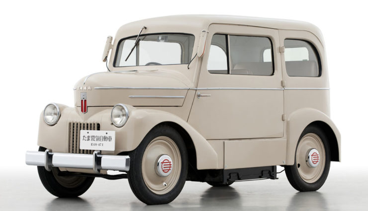 Alle Nissan-Elektroautos seit 1947