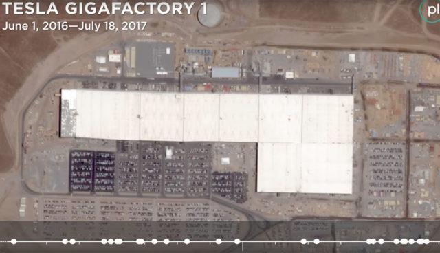 Tesla Gigafactory: Die letzten 12 Monate im Zeitraffer