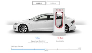 Tesla-Laderechner-Stromkosten-Benzin
