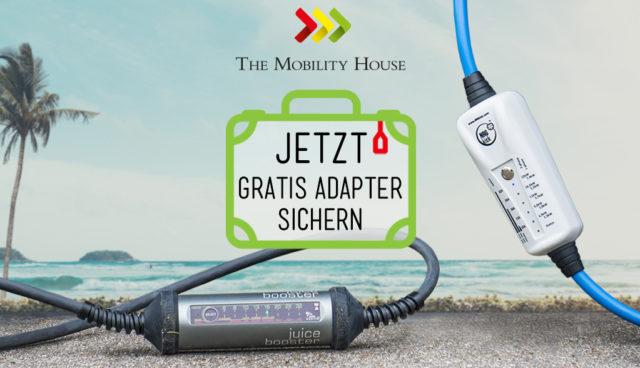 Summer Sale: Jetzt mobile Ladestation kaufen und gratis Adapter sichern!