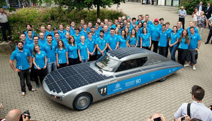 Hochschule Bochum präsentiert Solar-Sportcoupé