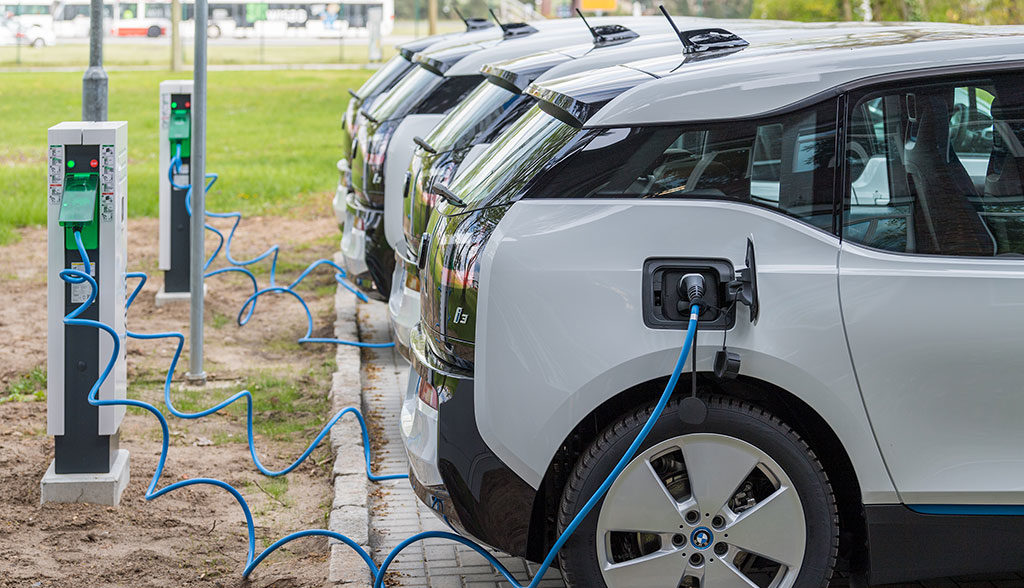 Elektroauto-Stromnetz