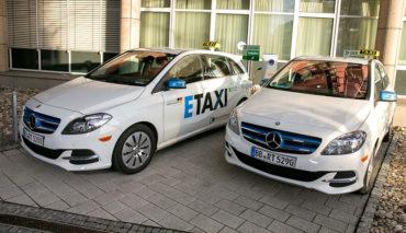 Elektroauto-Taxi