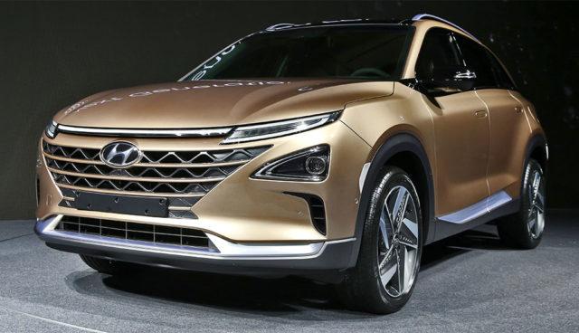 Hyundai zeigt neues Wasserstoff-Elektroauto