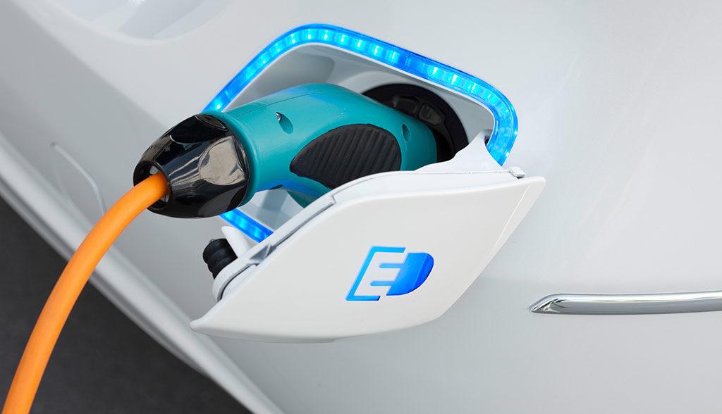 E-Autos.de Ladescheibe und Parkscheibe f/ür Elektroautos und Plug-In-Hybride