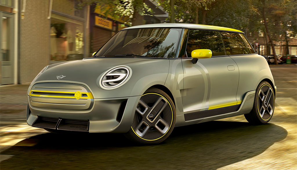 Mini Electric Concept: Ausblick auf erstes Serien-Elektroauto