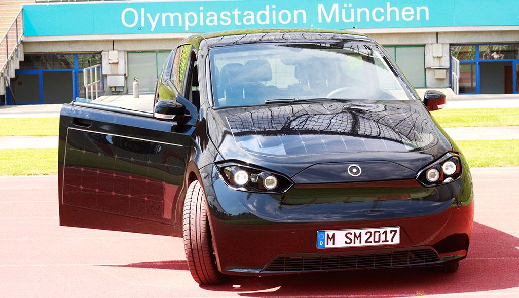 Solar-Elektroauto Sono Sion: Neue Bilder & Probefahrten-Termine ...