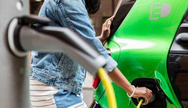 Stuttgart-Elektroauto-Ladestation