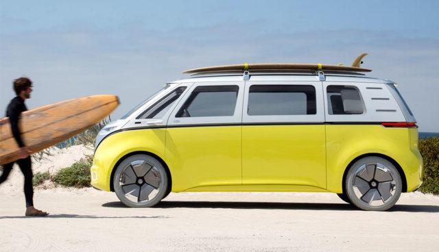 VW: Elektroauto-Microbus I.D. BUZZ wird gebaut – auch als Transporter
