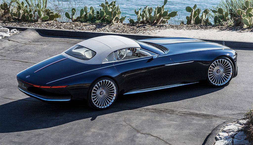 elektroauto luxus vision mercedes maybach 6 cabriolet. Black Bedroom Furniture Sets. Home Design Ideas