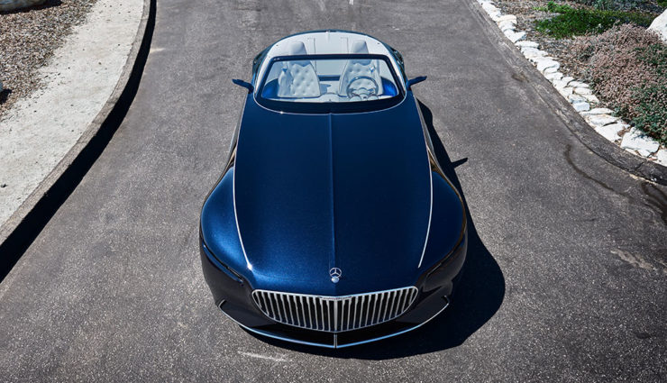 elektroauto-luxus: vision mercedes-maybach 6 cabriolet (bilder