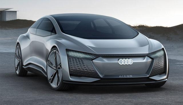 Audi Aicon: Autonome Elektroauto-Studie mit 800 Kilometer Reichweite