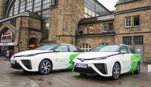 BMVI: 3,2 Millionen Euro für Wasserstoff-Elektroautos