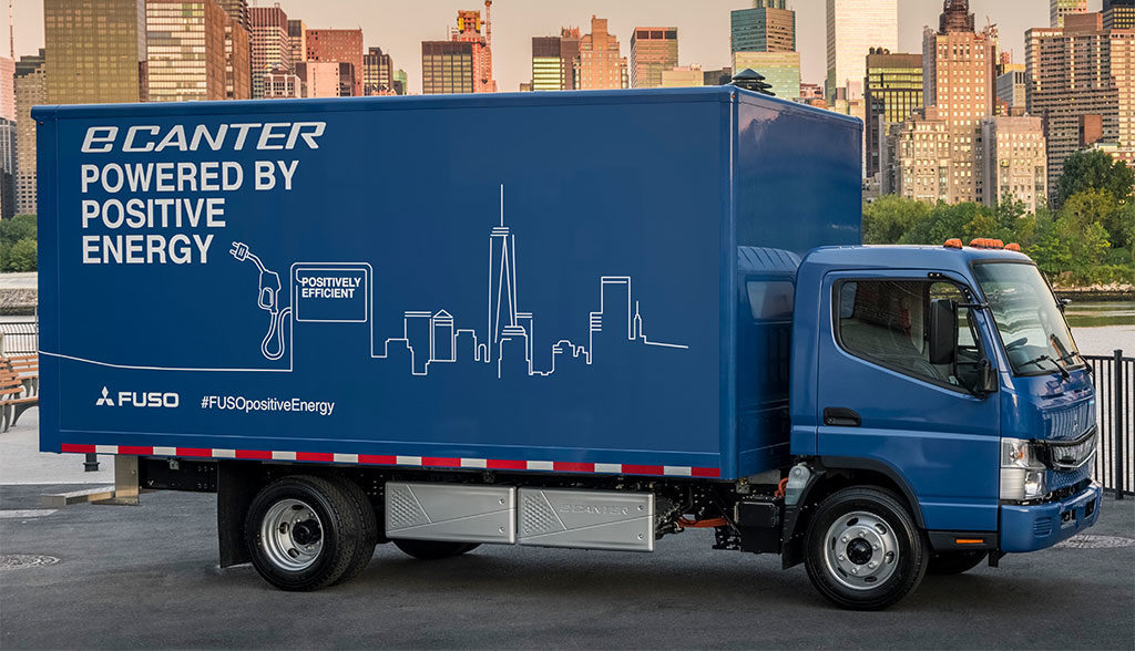 Daimler–Elektro-Lkw-FUSO-eCanter
