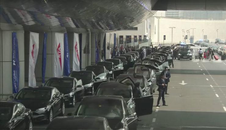 Dubai nimmt Tesla-Taxi-Flotte in Betrieb