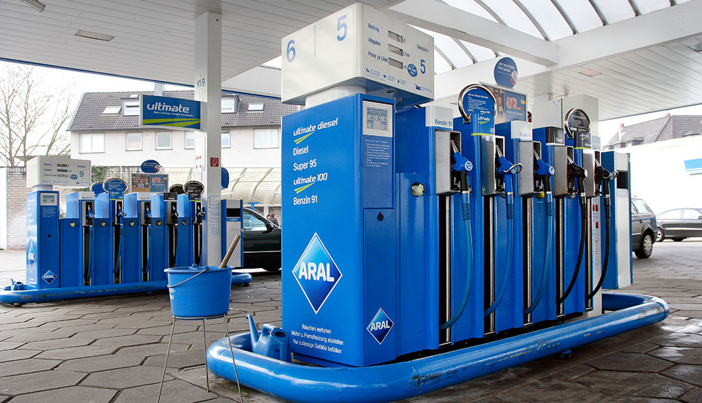 Elektroauto-Tankstelle
