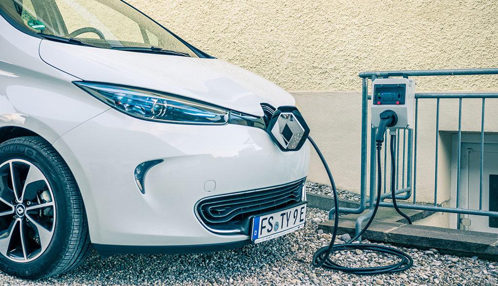 Elektroautos-Gefahr-Stromversorgung
