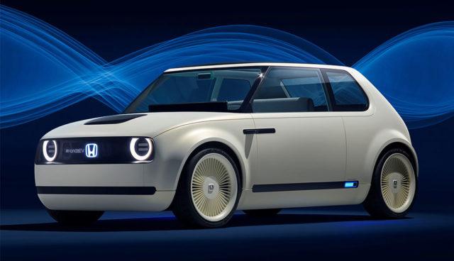 Geht 2019 in Serie: Honda-Elektroauto Urban EV Concept