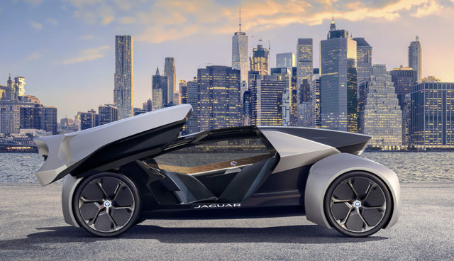 Future-Type: Jaguar zeigt Elektroauto-Vision