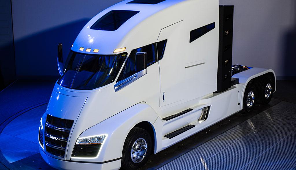 Nikola und Bosch bauen Lkw mit Brennstoffzelle