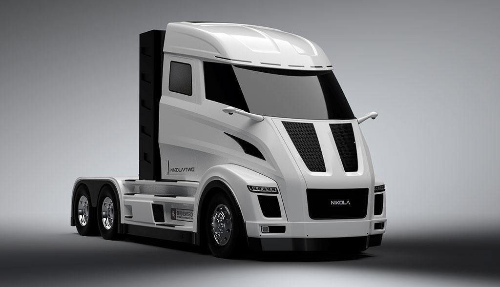 Bosch liefert Technik für Lkws mit Brennstoffzelle