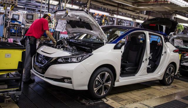 So wird der neue Nissan LEAF gebaut