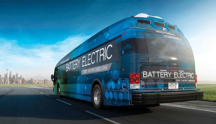 Elektro-Bus von Proterra fährt 1772 Kilometer mit einer Akkuladung
