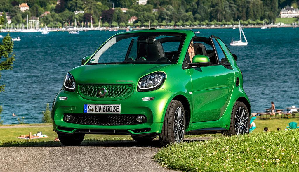 Smart-Elektroauto-Mercedes-Benz