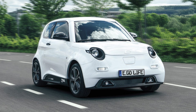 Deutscher Elektroauto-Flitzer e.GO Life kommt in drei Versionen