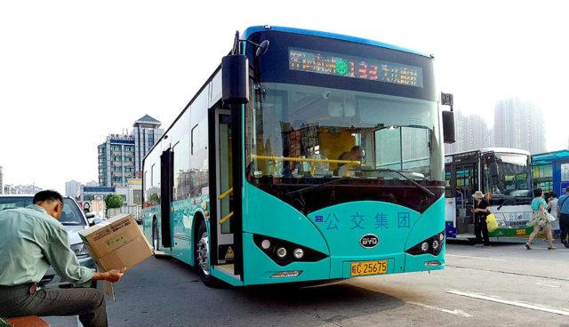 10.000 Elektrobusse für Peking bis 2020