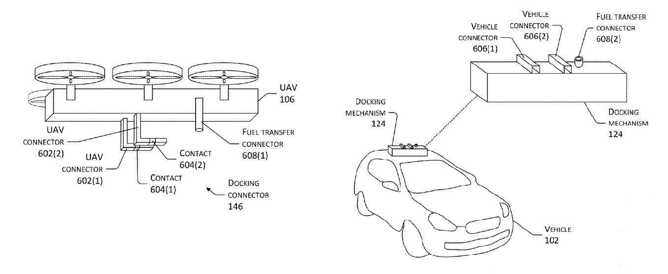Amazon-Elektroauto-Lade-Drohne