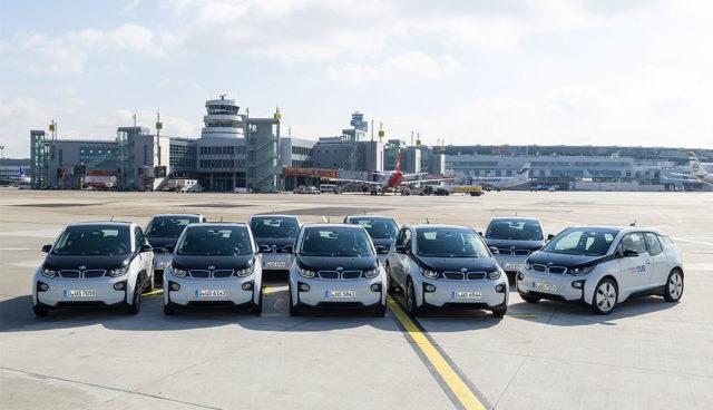 Elektroauto-Flughafen-Duesseldorf