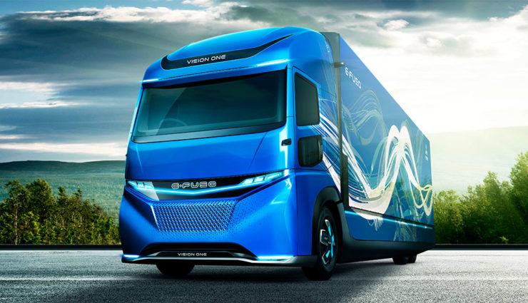 Daimler FUSO stellt vollelektrischen schweren Lkw Vision One vor