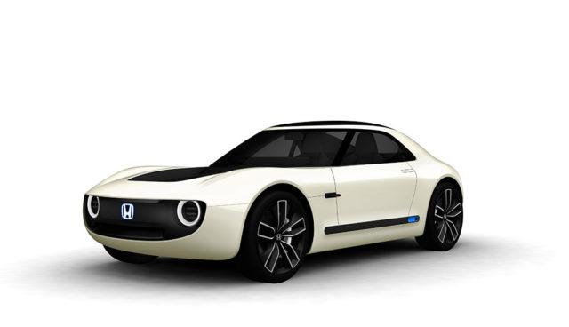 Honda zeigt Elektroauto-Sportwagen Sports EV Concept