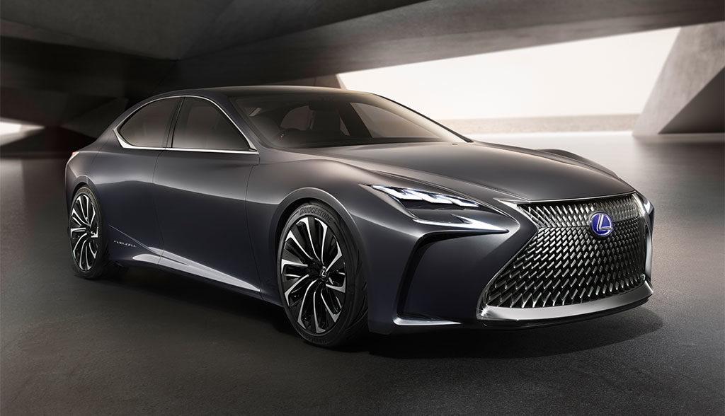 Lexus-Elektroauto-Wasserstoffauto